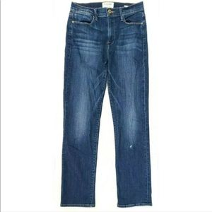 Frame Womens Jeans 27 Le High Straight Stretch